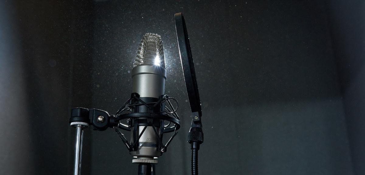 mikrofon till dubbning